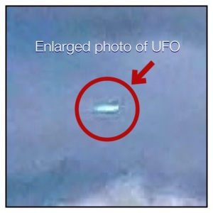 A UFO Appears near a venue Tony is speaking at